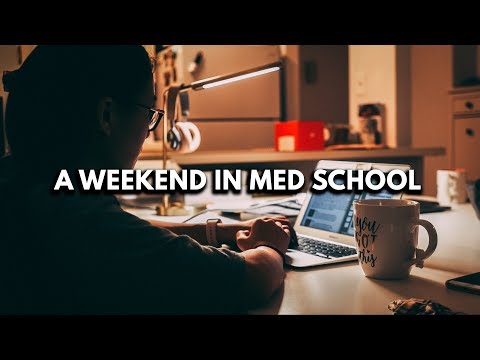 WHAT A WEEKEND IN MEDICAL SCHOOL LOOKS LIKE (4th year vlog)