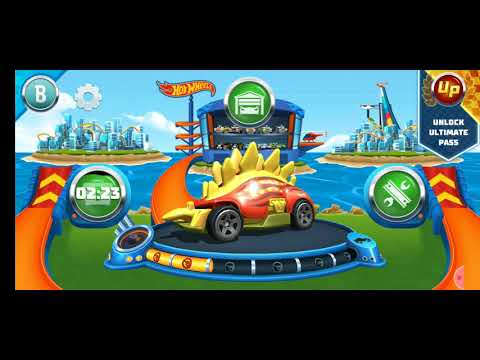 Hot Wheels Unlimited Night Shifter Red Edition Random Track Race Car Stunt Android IOS Gameplay HD  