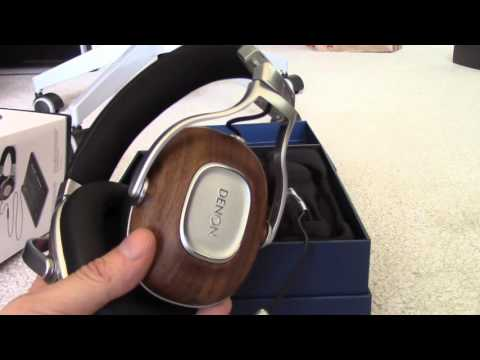 Denon Music Maniac MM400 Over Ear Closed Headphones unboxing