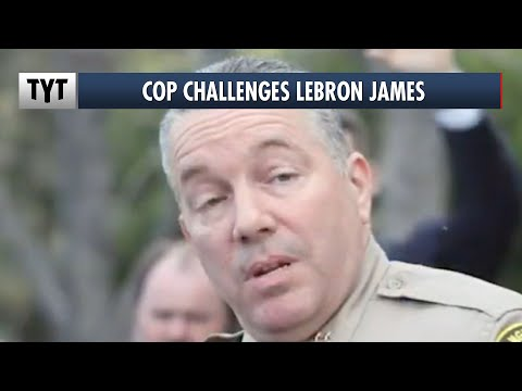 Sheriff Challenges LeBron James