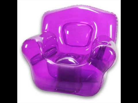 Kids Inflatable Chairs  Intex Inflatable Cafe Chair  YouTube