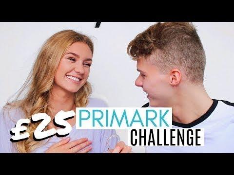 GIRLFRIEND VS BOYFRIEND $25 PRIMARK OUTFIT CHALLENGE