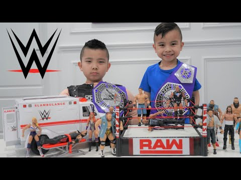 WWE Superstars Championship With CKN Toys