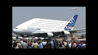 TOP 10 WORLDS BIGGEST AIRPLANES YOU WON'T BELIEVE EXIST