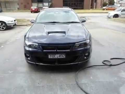 Holden Vx Commodore Bodykit Paint Job Custom Bonnet Scoop