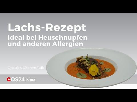 Lachs-Rezept mit Paprikacreme bei Heuschnupfen