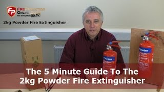 The 5 Minute Guide To The 2kg Powder Fire Extinguisher
