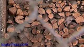 Отопление дома твердотопливным котлом производства