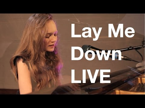 Sam Smith - Lay Me Down - LIVE cover by 12 year old Sapphire - John Legend