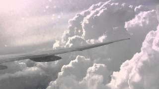 ANA209便 B777-300ER フランクフルト空港手前で上空待機 (アナウンス有り) thumbnail