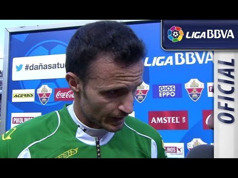 Interview Herrera after Elche CF (0-0) FC Barcelona - HD