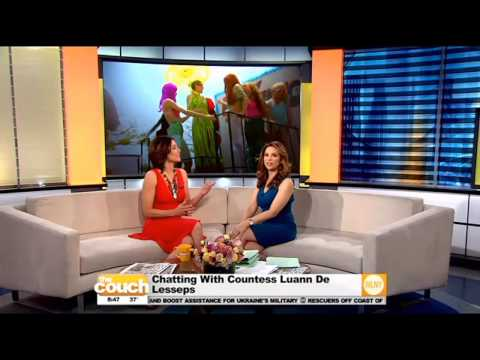 Chatting With Countess Luann De Lesseps - YouTube