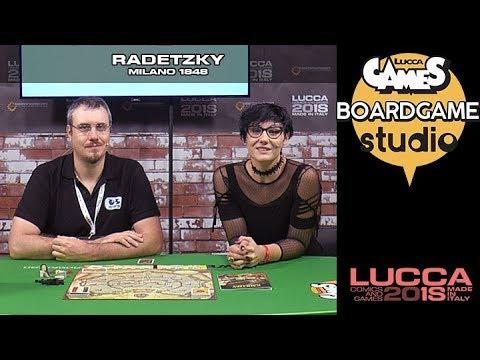 [Lucca Comics & Games] Boardgame studio: Radetzky - Milano 1848