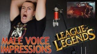 League of Legends Male Voice Impressions - Part 2 - D to M