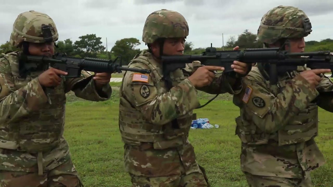 US Military News • U.S. Army Green Berets • Close Quarters Battle Training • Guam July 19 2021