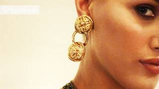 The Carole Tanenbaum Vintage Collection at the Baglioni Hotel with Noelle Reno | FashionTV - FTV
