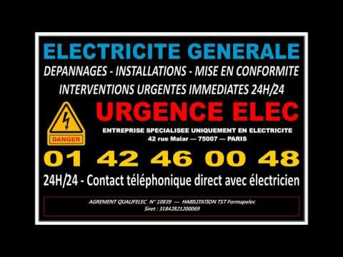ELECTRICITE PARIS 7eme - ELECTRICIEN PARIS 75007