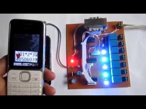Hướng dẫn điều khiển từ xa bằng điện thoại 7 ngõ ra (có phản hồi âm thanh) _ kênh chế tác
