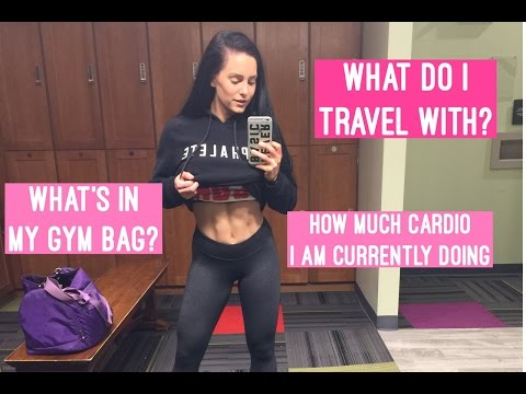 What's in my gym bag? Current Cardio? Traveling with food? | EVOLVE Episode 19