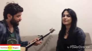 парень и девушка красиво поют на курдском