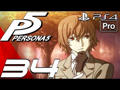 Persona 5 - English Walkthrough Part 34 -  Casino Palace (PS4 PRO)
