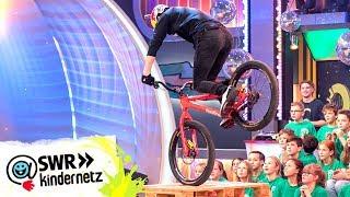 Freeriding - Fabio Wibmer zeigt seine Tricks | Tigerenten Club | SWR Kindernetz