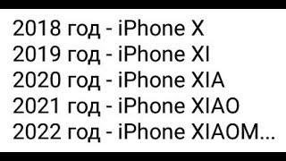 Лютые приколы. Iphone-xiaom