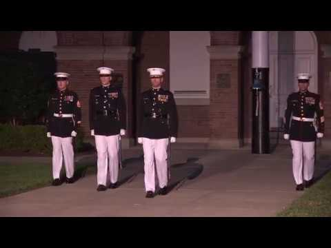 USMC Marine Barracks Washington, Evening Parade June 30, 2017