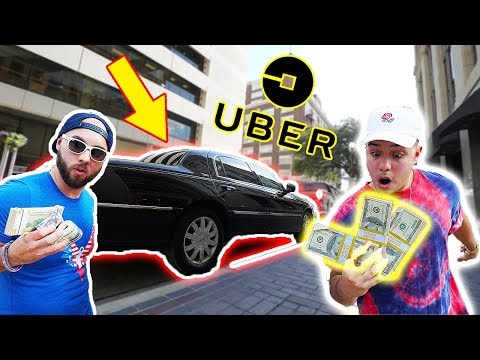 LEAVING $10,000 IN UBER!! (TRUTH TEST GONE WRONG)