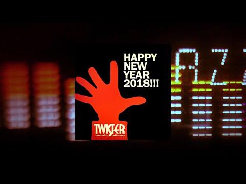 Twister records Happy New Year 2018! - mixed by Paul Moana