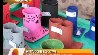 INSTITUCIONES EDUCATIVAS EN LA ECOFERIA MUNICIPAL