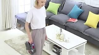 가정용 소형 저소음 고출력 핸드 무선 청소기