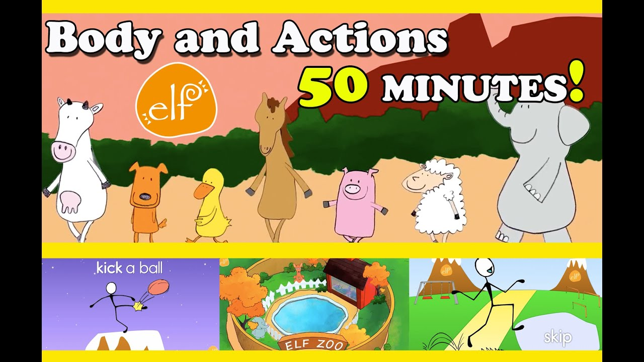 Body Movement Action Songs Collection For Toddlers And Kids Elf