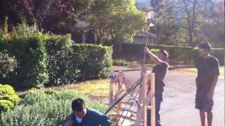 Cool Water Balloon Catapult!