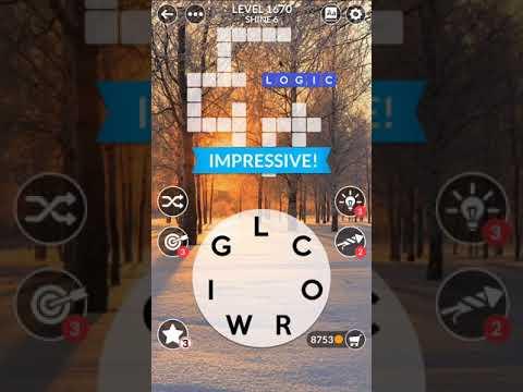 Wordscapes Level 1670 | Answers - YouTube