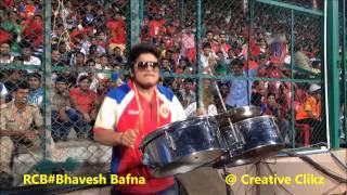 Royal challengers bangalore drummer bhavesh bafna (RB)