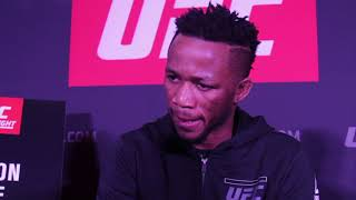 UFC London - Terrion Ware Interview ahead of UFC London.