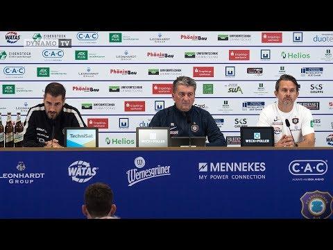 8. Spieltag | AUE - SGD | Pressekonferenz nach dem Spiel