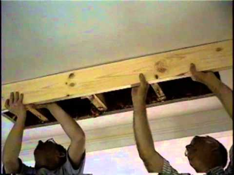 Attic Stairs How To Install Part 1 Youtube