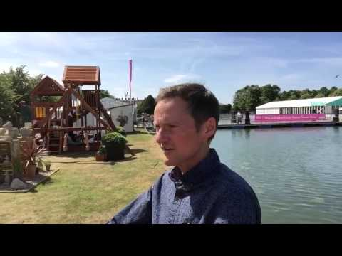Mark Forrest Show, BBC Local Radio, live from Hampton Court Palace Flower Show, Mon 29 June