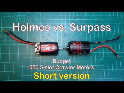 Holmes Hobbies CrawlMaster Sport 15T 550 Brushed Crawler Motor