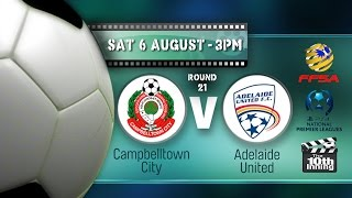 Campbelltown City vs Adelaide United U-21 full match