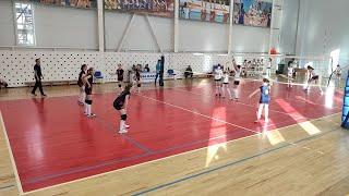 Турнир по волейболу среди девочек 2008-2009 в г. Кострома. Москва - Екатеринбург
