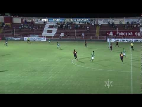 Sport 0 x 1 Uberlândia MG (Gol)
