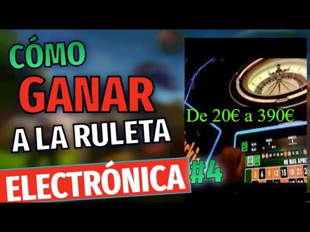 Ruleta Electrónica en el Salón de Juegos Luckia /Casino🔥 20€ a 390€