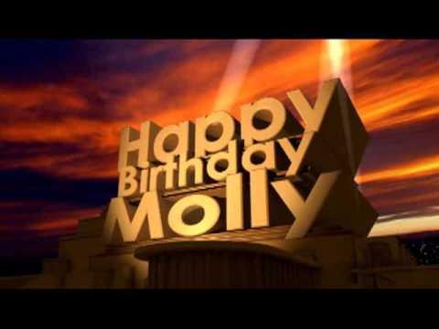 Happy Birthday Molly Youtube