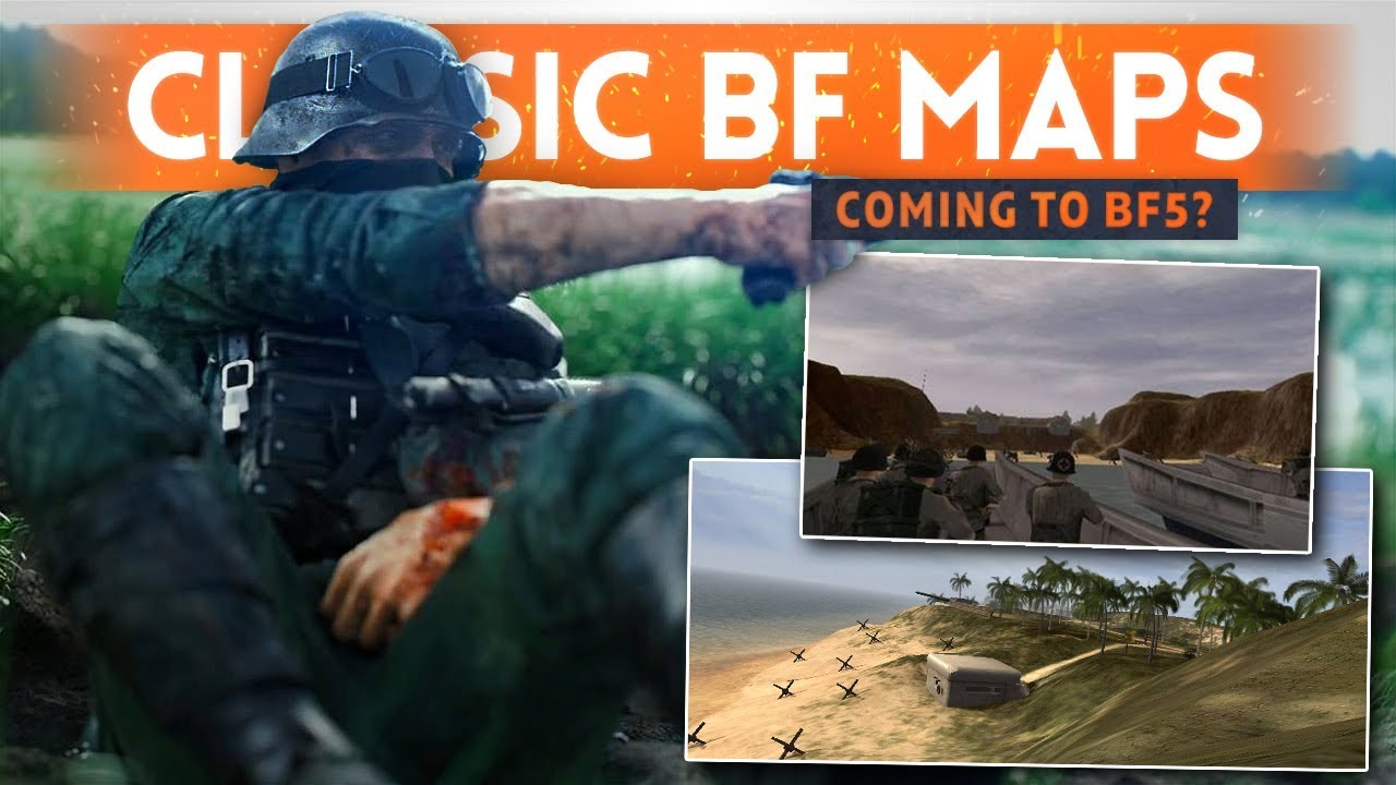 CLASSIC BF1942 MAPS Coming To Battlefield 5? - DICE Dev Hint (Omaha Beach & El-Alamein)