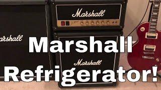 Marshall Guitar Amp Refrigerator Review