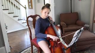 Lauren Wilhelm GYSO Camerata Audition