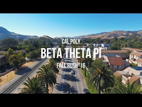 Cal Poly Beta Theta Pi - Fall Rush '16